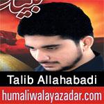 http://www.humaliwalayazadar.com/2016/10/talib-allahabadi-nohay-2017.html