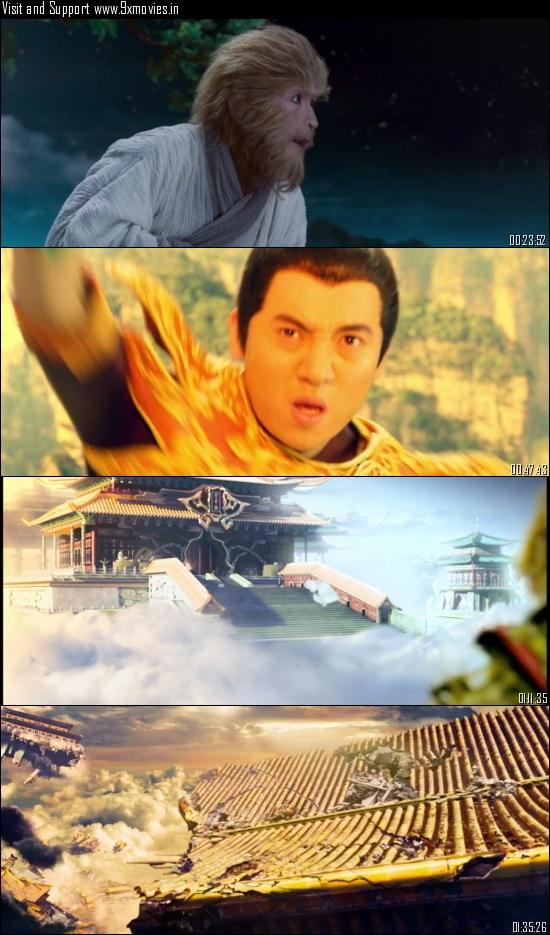 The Monkey King 2014 Dual Audio Hindi 720p BluRay