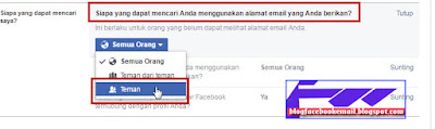 cara agar nama kita tidak muncul di daftar orang yang mungkin anda kenal di facebook
