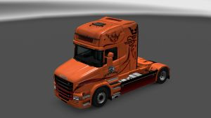 Mad Dog Skin for Scania T