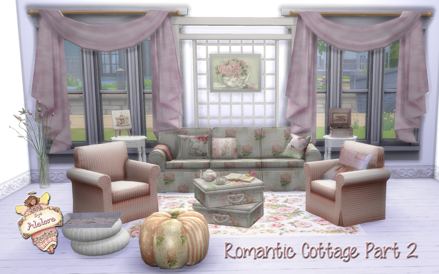 romantic cottage decor pt2 - Cottage Decorating Blogs