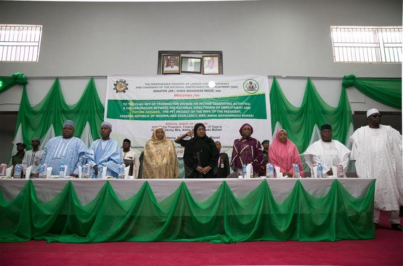 Aisha Buhari commissions Future Assured, revenue programme for women