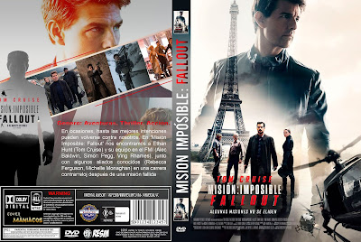CARATULA - MISSION IMPOSSIBLE: FALLOUT - MISIÓN IMPOSIBLE: FALLOUT - 2018