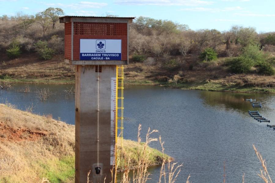 Barragem que abastece Caculé, Rio do Antônio, Guajeru e Licínio de Almeida caminha para o volume morto