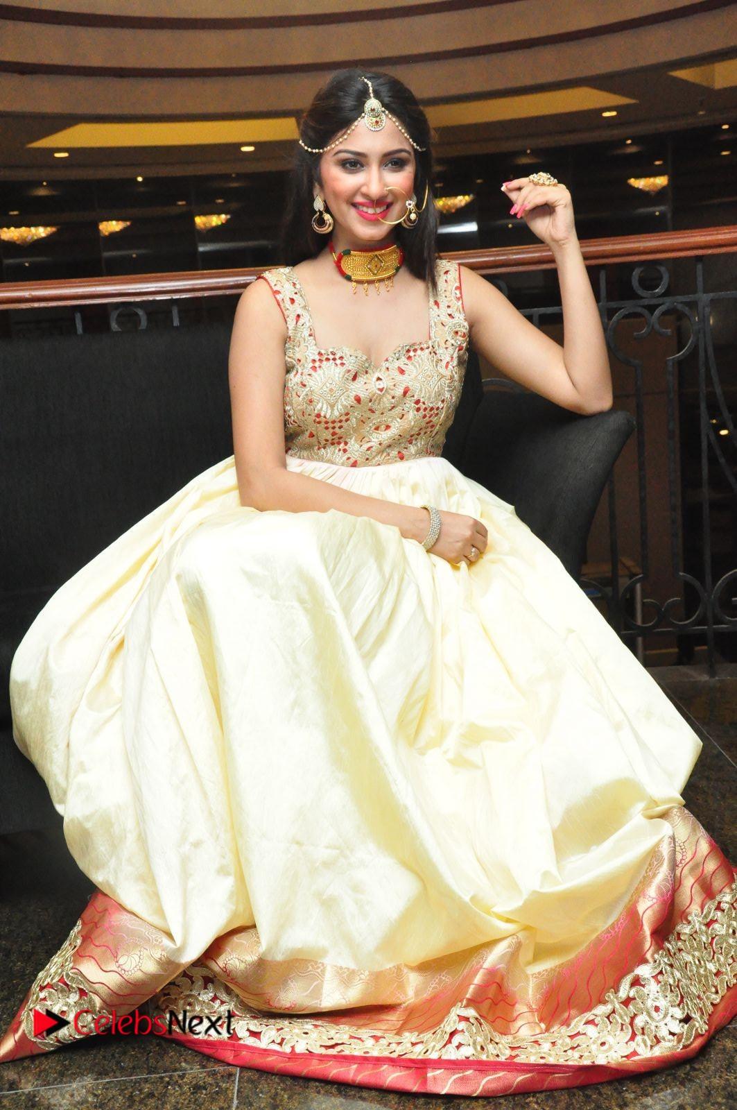Actress Eshanya Pictures at Women Anthem Album Launch  0105.JPG