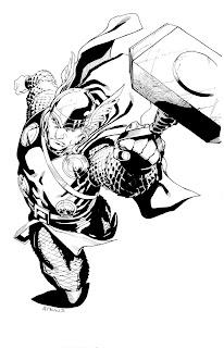Robert Atkins Art: Avengers April Thor...