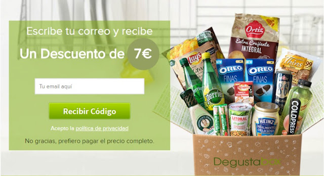 Degustabox caja descuento