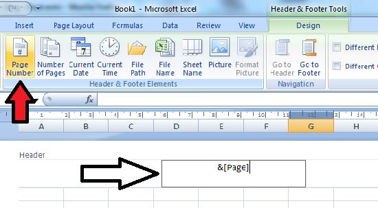 Cara menjadikan header sebagai nomor halaman excel
