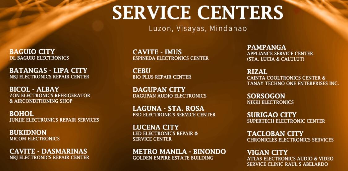 AVision Service Centers