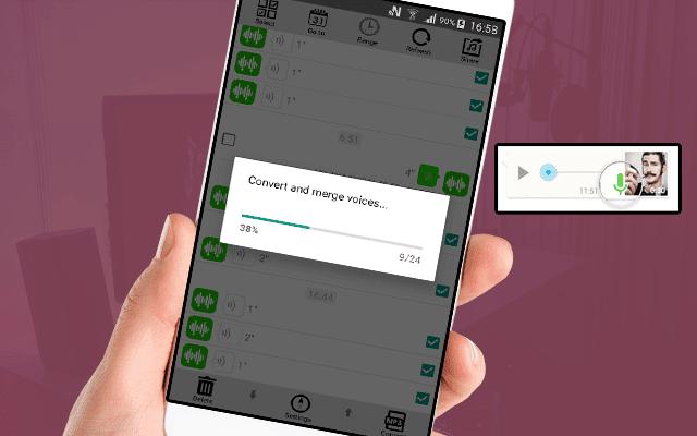 تطبيق جديد يجمع لك جميع الملاحظات الصوتية في الواتساب في ملف واحد Mp3