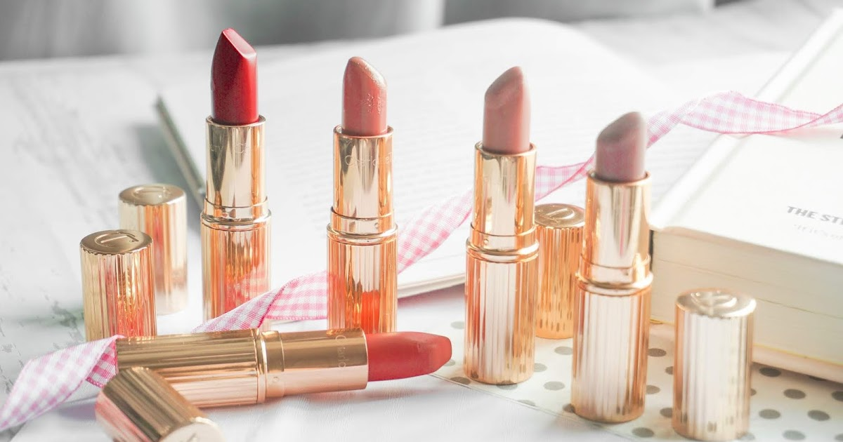 JOYCE LAU: CHARLOTTE TILBURY LIPSTICK COLLECTION + GIVEAWAY