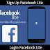 How To Login On Facebook Lite