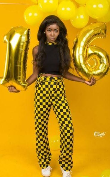 Photos: Mercy Aigbe's daughter turns 16 today