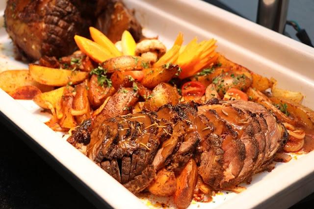 Buffet Shah Alam Menu - Roasted Lamb Leg