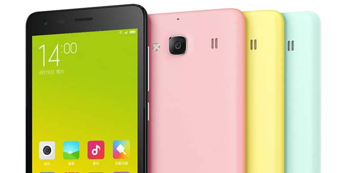 HP Android Quad Core - Xiaomi Redmi 2