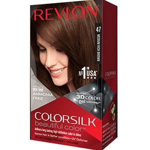 Revlon colorsilk thuốc nhuộm tóc số 1 của Mỹ Medium Rich Brown
