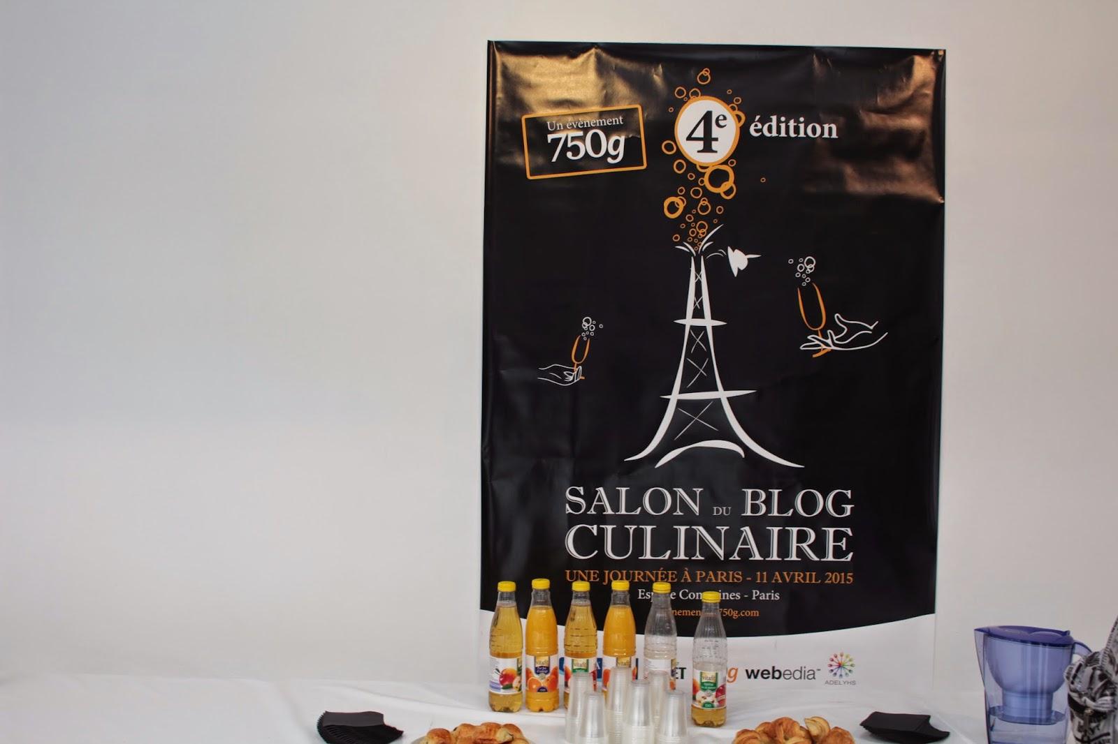 Salon du blog culinaire 2015 à Paris