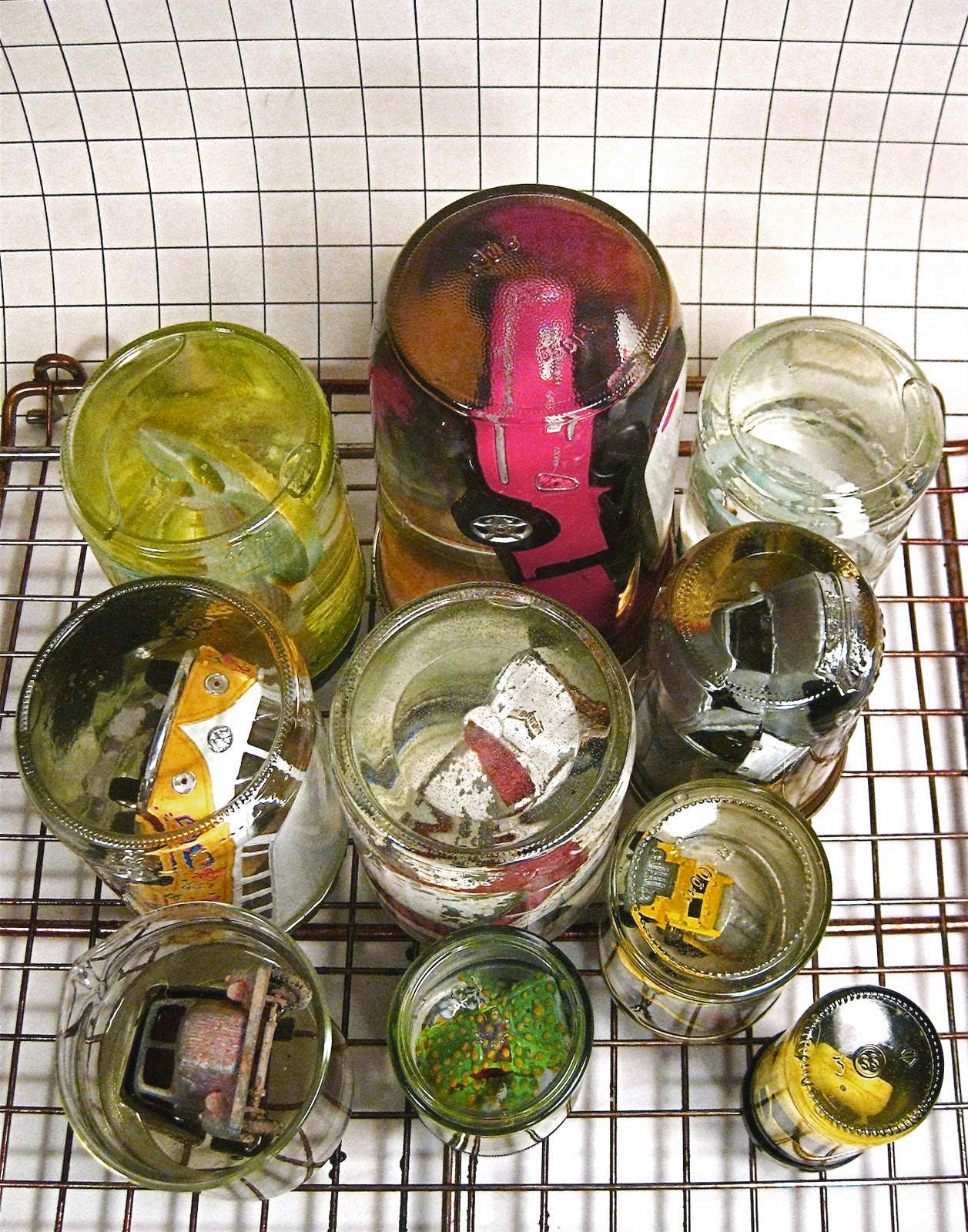 Cars In Jars