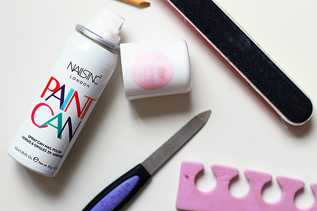 Review: Nails Inc. Paint Can Spray On Nail Polish