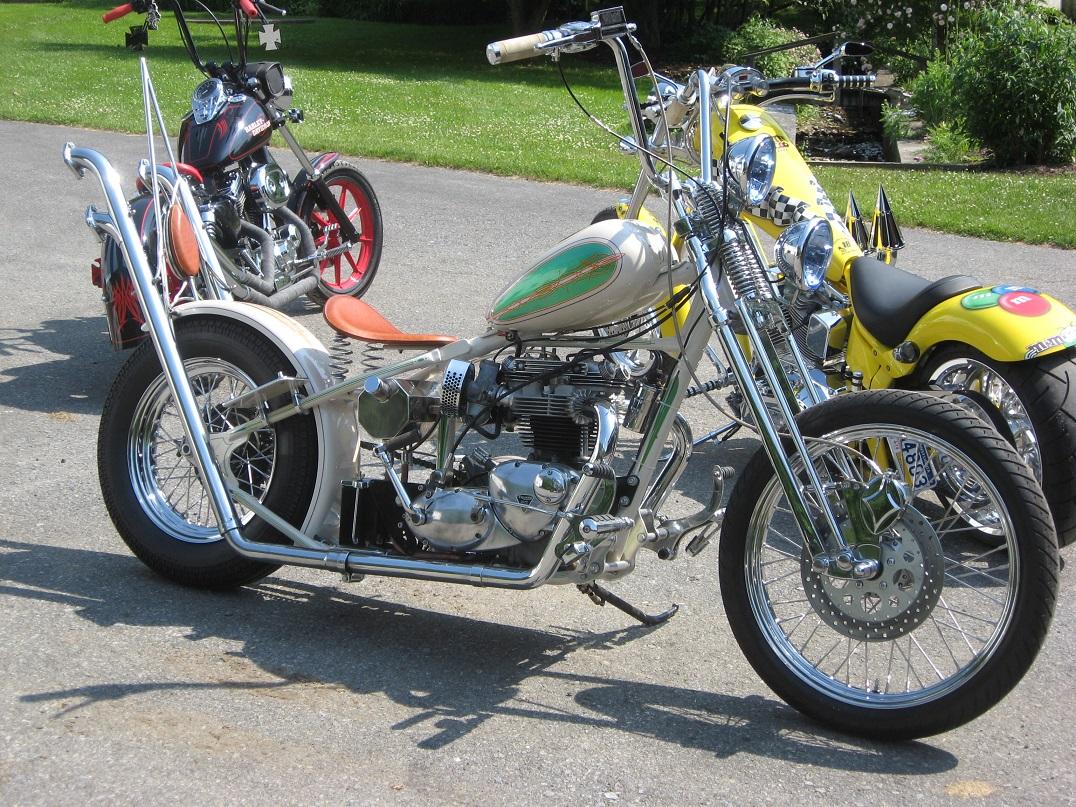 70 triumph chopper for sale