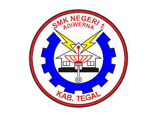 SMK N 1 ADIWERNA Free Vector Logo CDR, Ai, EPS, PNG