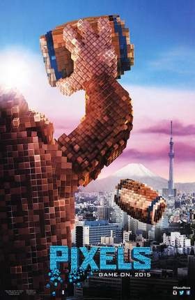 Pixels 2015 UNCUT Dual Audio Hindi 850MB BluRay 720p