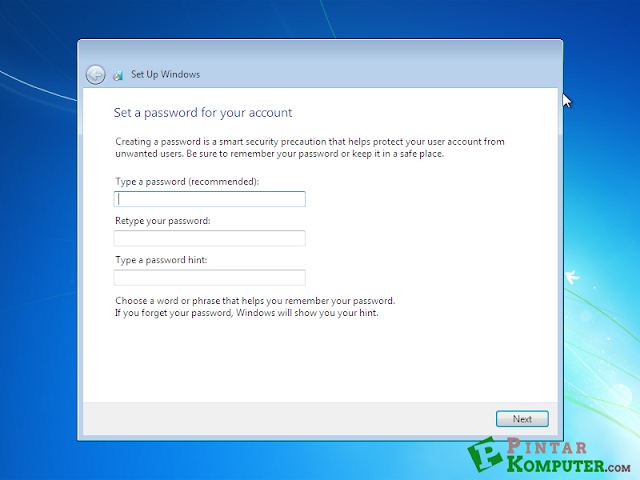 Panduan Lengkap Instal ulang Windows 7 Computer atau Laptop menggunakan CD DVD plus Gambar tutorial