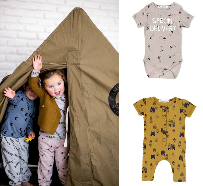 Fin & Vince AW16 kids and baby fashion collection