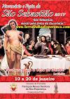 Convite e Programação do Festejo de São Sebastião 2017