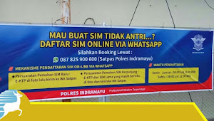 Begini Cara Daftar SIM Online Di Indramayu