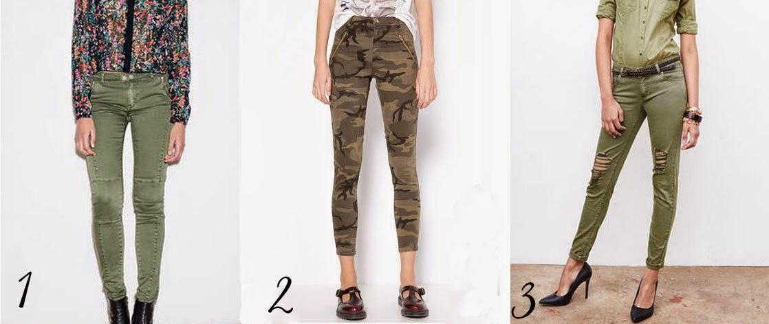 Top/Flop Tendances Printemps/Été 2015 pantalon kaki camouflage