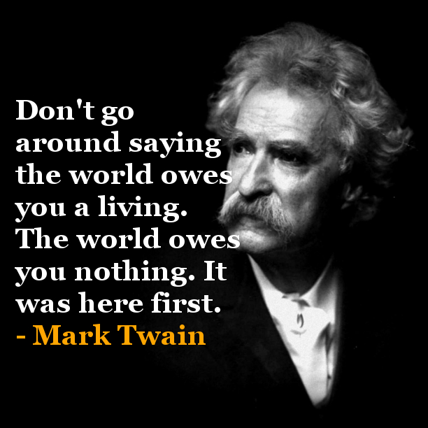 Mark Twain Quotes: Saturday Inpsiration LunchBOX