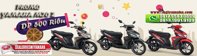 Promo Kredit Motor Yamaha Mio Z Dp 500 Ribu