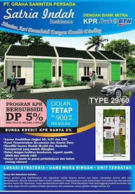 SATRIA INDAH RESIDENCE- Rumah Subsidi Tambun Utara Bekasi