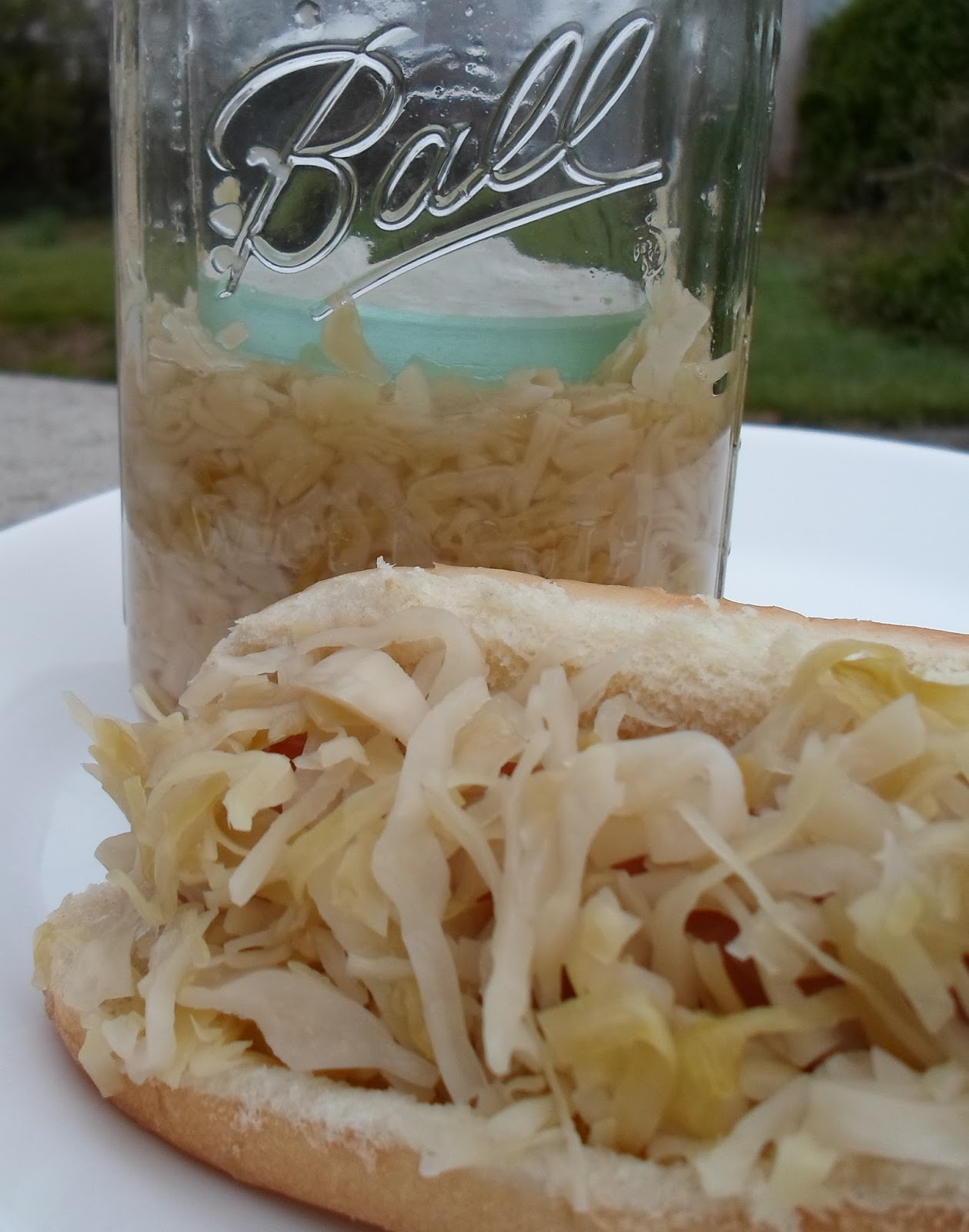 Happier Than A Pig In Mud: Small Batch Homemade Fermented Sauerkraut