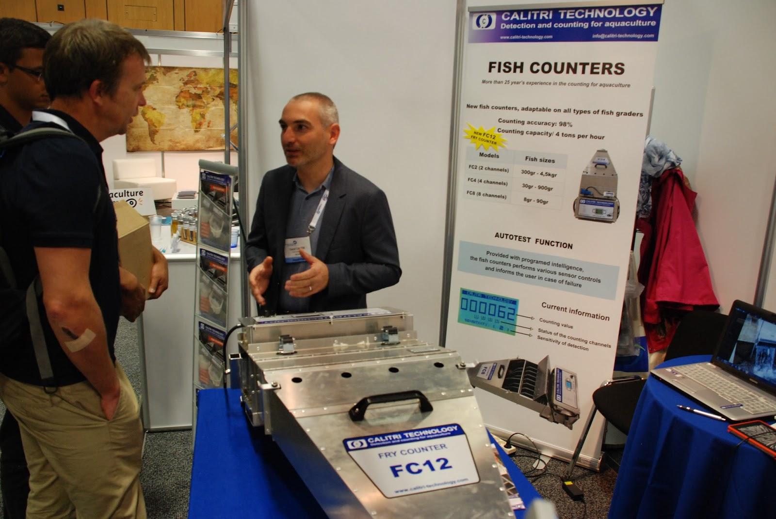 the aquaculturists  david calitri of calitri technology talks tech a potential customer