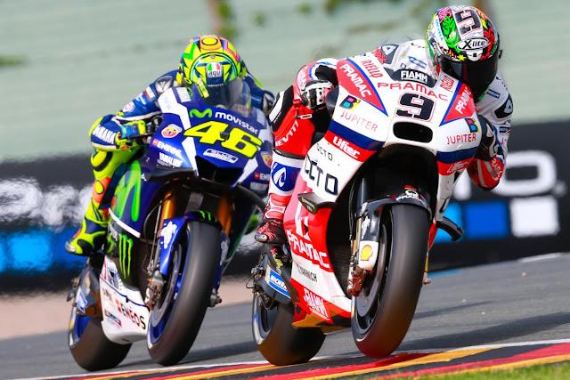 Rossi : Syarat Kalahkan Marquez, Kalahkan Ducati Dulu