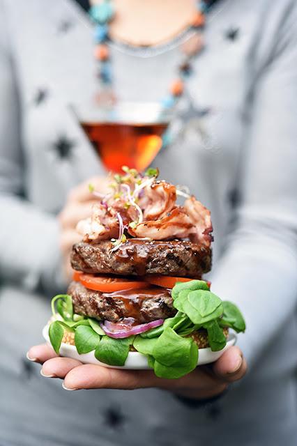 Hamburger Manhattan recette barbecue