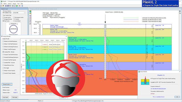 Innovative Geotechnics PileAXL v2.2