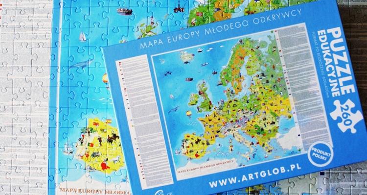 Europa Młodego Odkrywcy puzzle