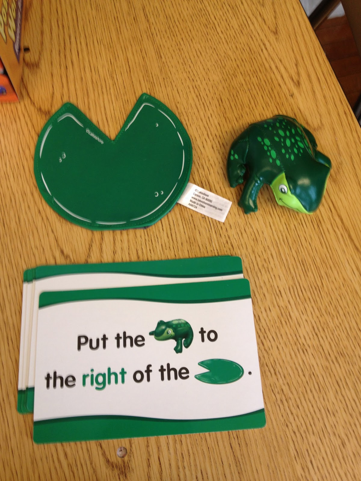 Autism Tank Preposition Activity