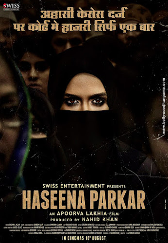 Haseena Parkar (2017) Movie Poster