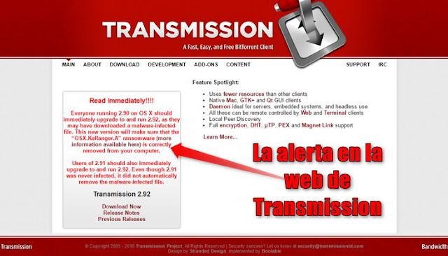 """Apareceio el primer """"Ransomware"""", software malicioso de chantaje en Mac OS X"""