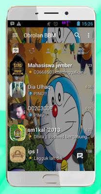 BBM Mod Free Emoticon Update Change Background Clone or Unclone