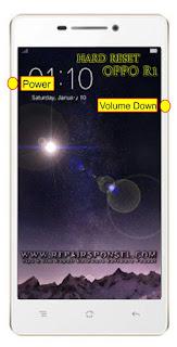 Hard Reset Oppo R1 R829 Test sukses