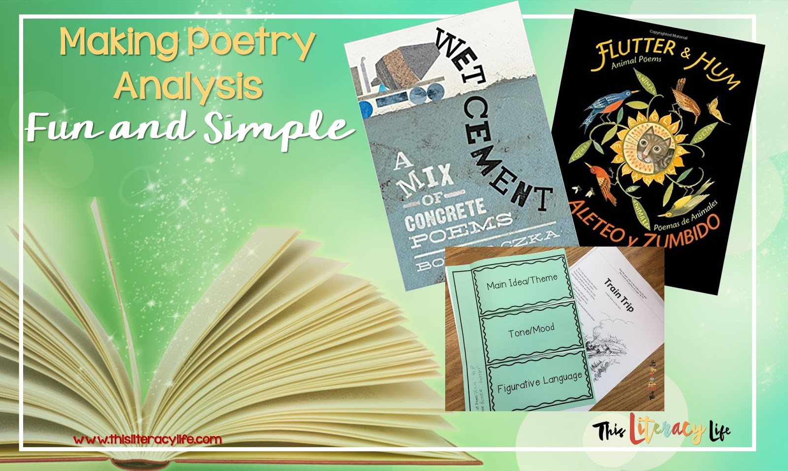 Poetry can be meaningful and fun when you share it with students and work to think about what it all means!