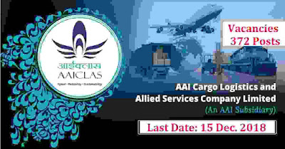 AAICLAS Recruitment 2018