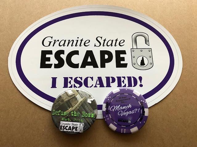 Granite State Escape Room