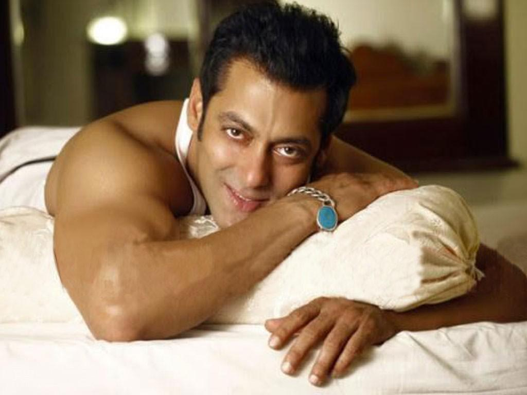 Salman Khan smiling