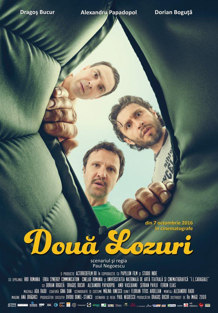 Doua Lozuri - film romanesc. Dragos Bucur, Dorian Boguta, Alexandru Papadopol. RoImage. Silviu Pal Blog.